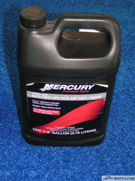 Quicksilver - extended life coolant anti-freeze