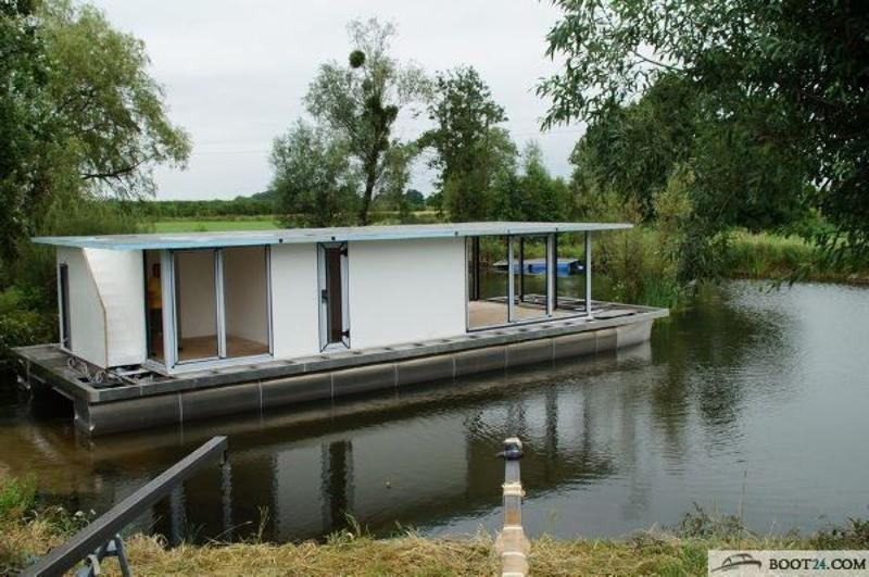 WATERBUS S C  Hausboat Do it yourself 15x5 6 m Motorboat for