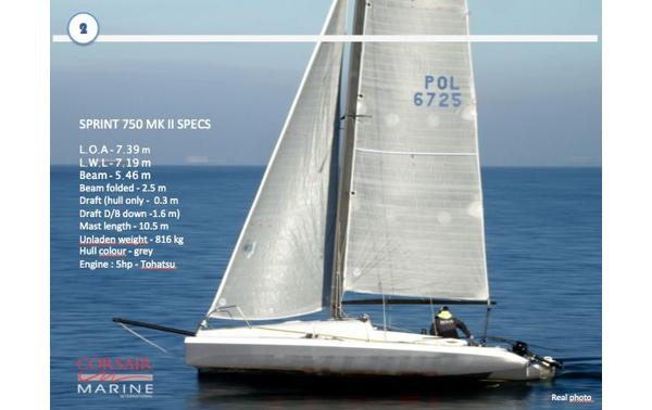 9 Trimarans: Trimaran For Sale - Boats24 com